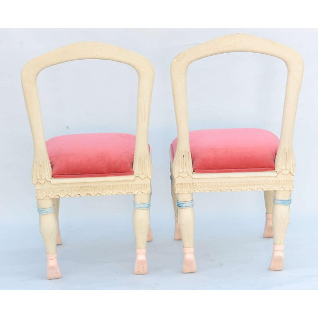 Set of Four Ballerina Side Chairs - Image 5 of 10