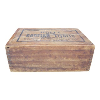 Double Opening Wooden Box
