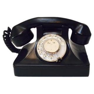 Antique Bakelite Dial Phone