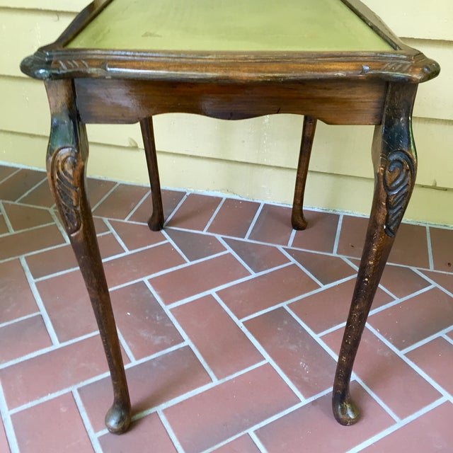 French Walnut Nesting Tables - A Pair - Image 5 of 11