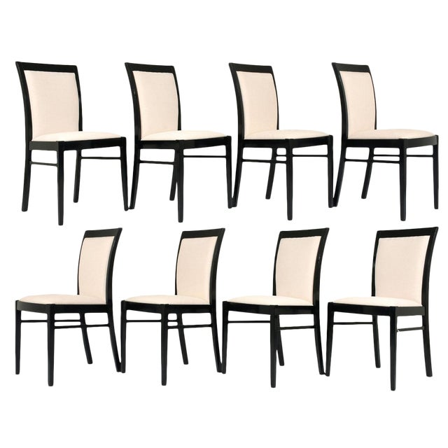 Image of Set of Eight Regency-style Dining Chairs