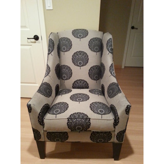 Funky Queen Anne Chair from Ethan Allen - Image 2 of 3