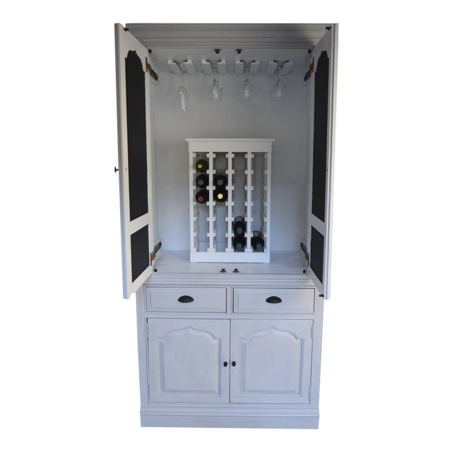 Traditional Home Bar Cabinet - Image 1 of 11