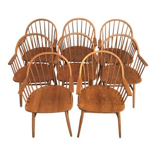 Claud Bunyard Mid-Century Windsor Chairs - Set of 8