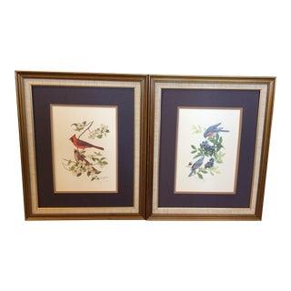 Carolyn Mejstrik Limited Edition Bird Prints - A Pair
