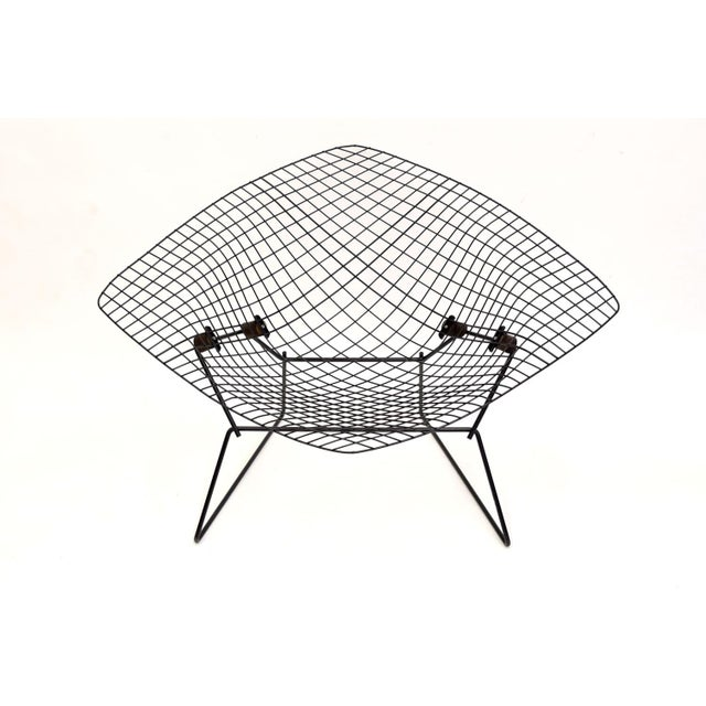 Large Early Knoll Bertoia Low Diamond Chair Chairish