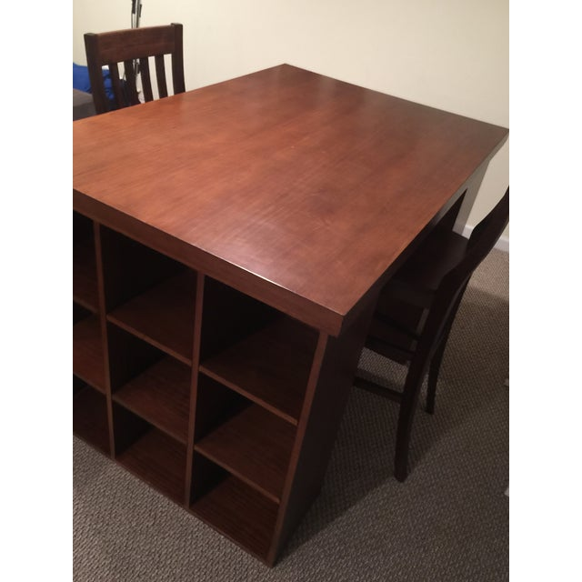Image of Pottery Barn Project Table & Two Matching Chairs