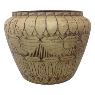 Large 1930's Monmouth Egyptian Vase