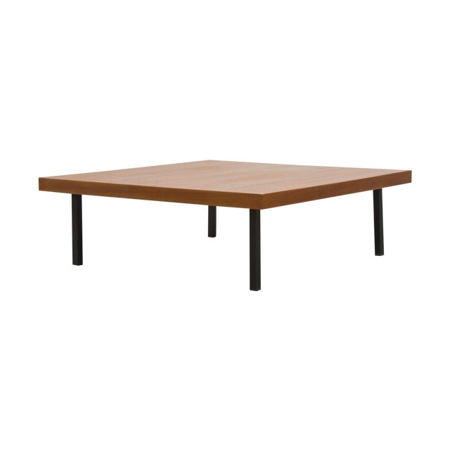 Artifort Low Square Teak Coffee Table Design 1845 Chairish