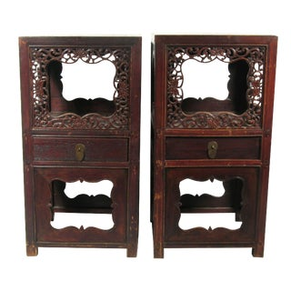 Antique Chinese Tea Tables - A Pair