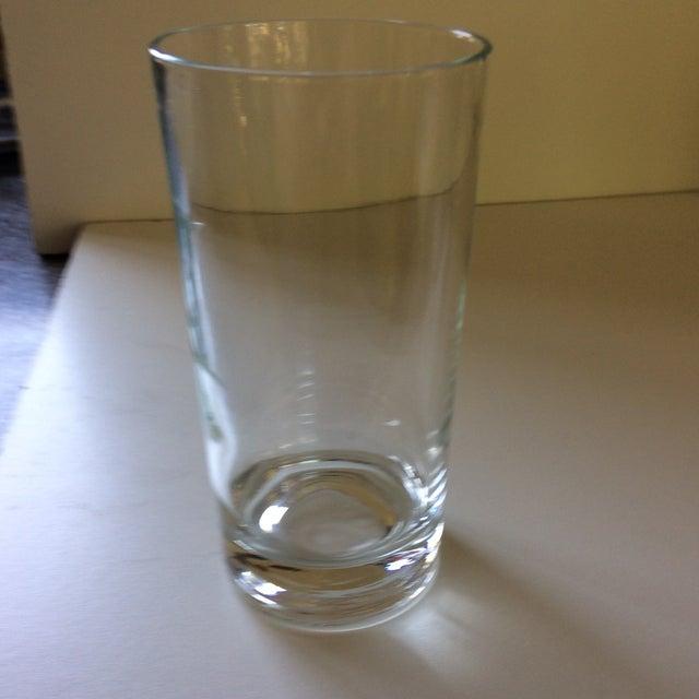 Vintage Quot J Quot Etched Crystal Hi Ball Glasses Set Of 6