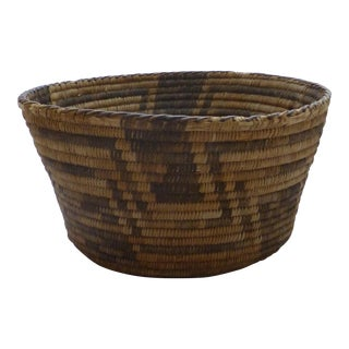 Antique Apache Basket Circa 1890-1920
