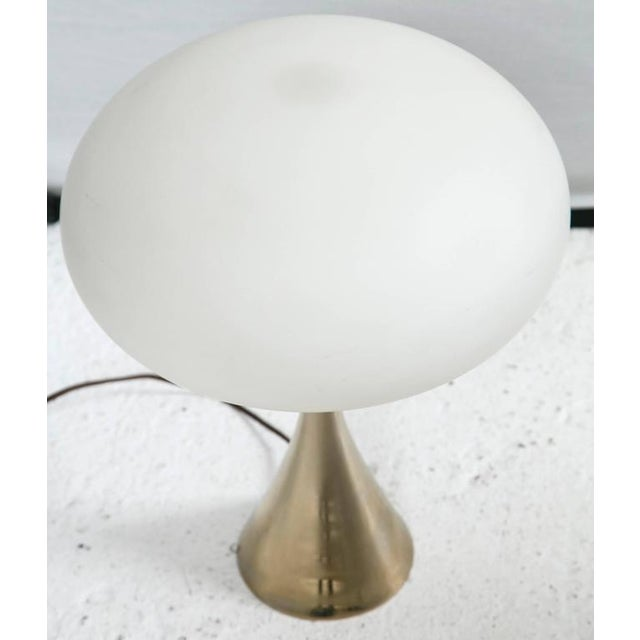 Brass Mushroom Lamp Designed by Bill Curry for Laurel - Image 2 of 4
