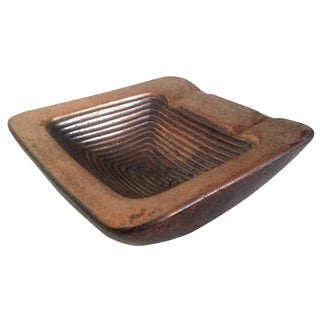 Ben Seibel Copper Square Ashtray