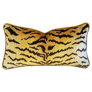 Scalamandre Le Tigre & Mohair Pillow