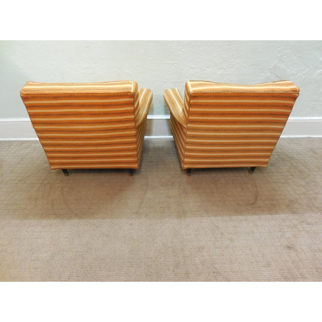 Vintage Mid-Century Modern Lounge Chairs - A Pair - Image 5 of 10