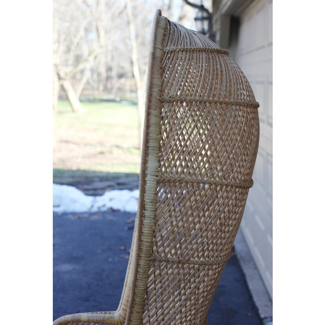 Vintage Rattan Porter Chair - Image 4 of 9