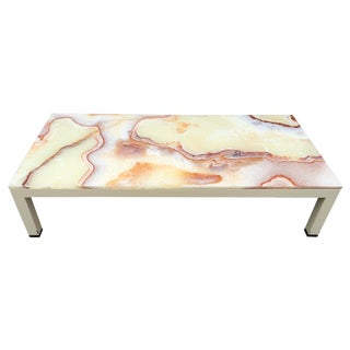 Onyx Parsons Coffee Table