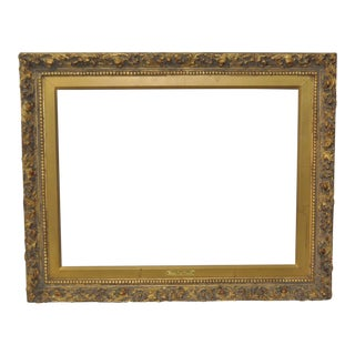 Antique Carved & Gilded Frame