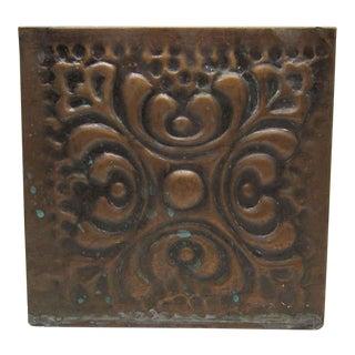 Copper Turkish Decorative Planter Box