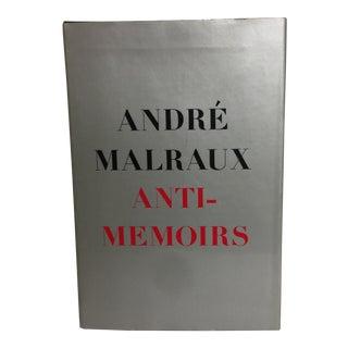 Anti-Memoirs Andre Malraux 1968