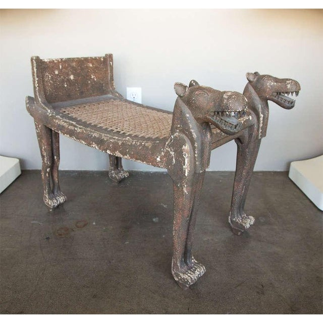 Egyptian Revival Bench - Image 2 of 9