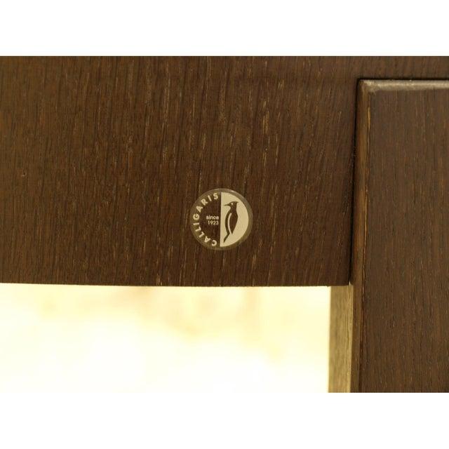 Calligaris Italian Hardwood Dining Table - Image 4 of 4