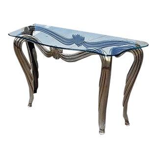 Art Nouveau-Style Console Table