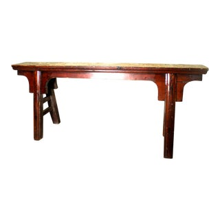 1800s Antique Chinese Ming Bench