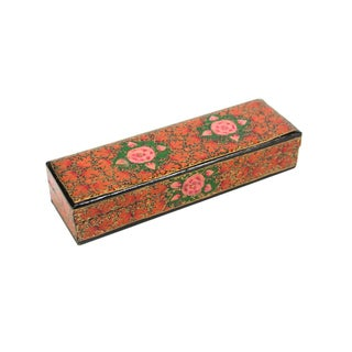 Hand Painted Kashmiri Pencil Box II