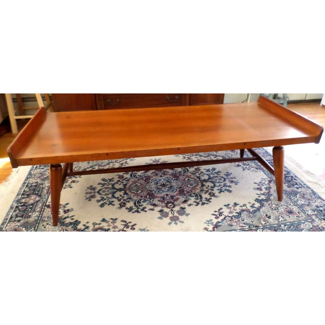 Image of Vintage Willett Transitional Cherry Coffee Table