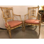 Image of Maison Jansen Arm Chairs - a Pair
