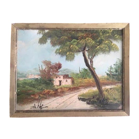 Adobe Home and Landscape Painting - Image 1 of 3