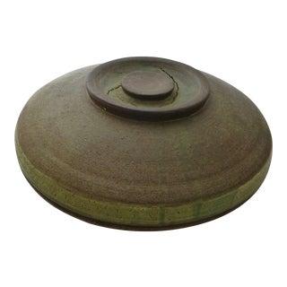 Mid-Century Organic Studio Pottery Bowl