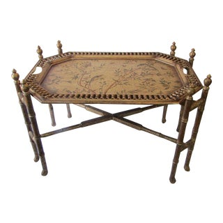 Very Decorative Coffee Table With Removable Tray Top
