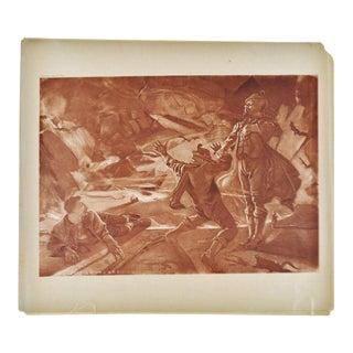 1899 Photogravure of William Leftwich Dodge's Der Freischütz Opera Painting