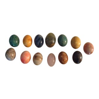 Colorful Marble Eggs - Set of 13