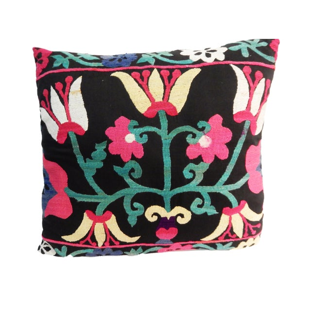 Old Suzani Lg Pillow - Image 7 of 8