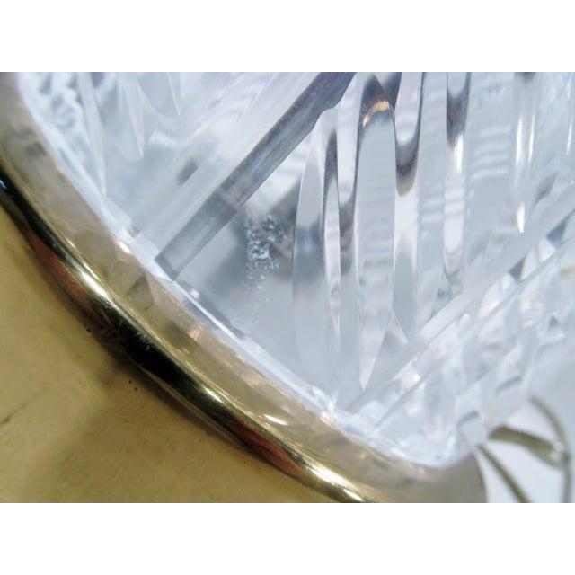 Image of Vintage Waterford Irish Cut Crystal Table Lamp