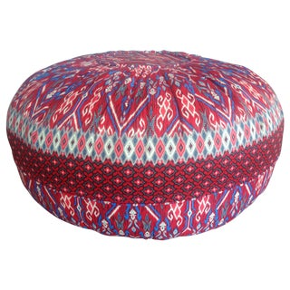 Indonesian Red Pouf