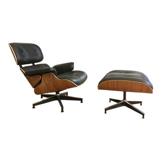 Herman Miller Eames Lounge Chair   Ottoman   A Pairherman miller eames lounge chair  and ottoman a pair 0489 aspect fit width 320 height 320. Eames Wicker Womb Chair. Home Design Ideas