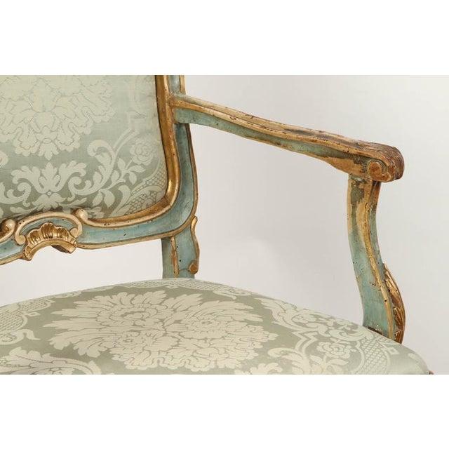 Fine Venetian Rococo Arm Chair - Image 7 of 9