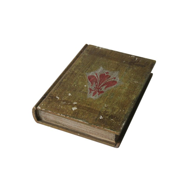 Florentine Fleur De Lis Book Box - Image 1 of 8