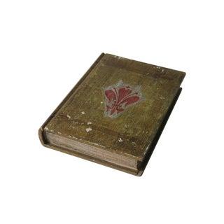 Florentine Fleur De Lis Book Box