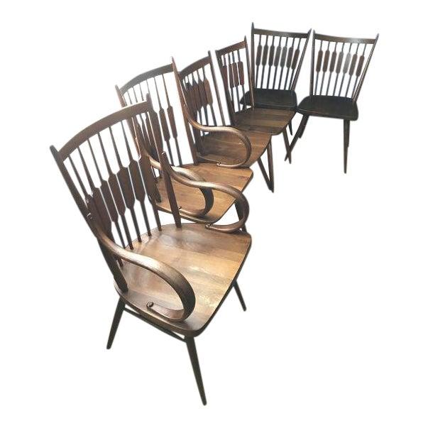 Drexel Declaration Kipp Stewart Dining Chairs - Set of 6 - Image 1 of 7