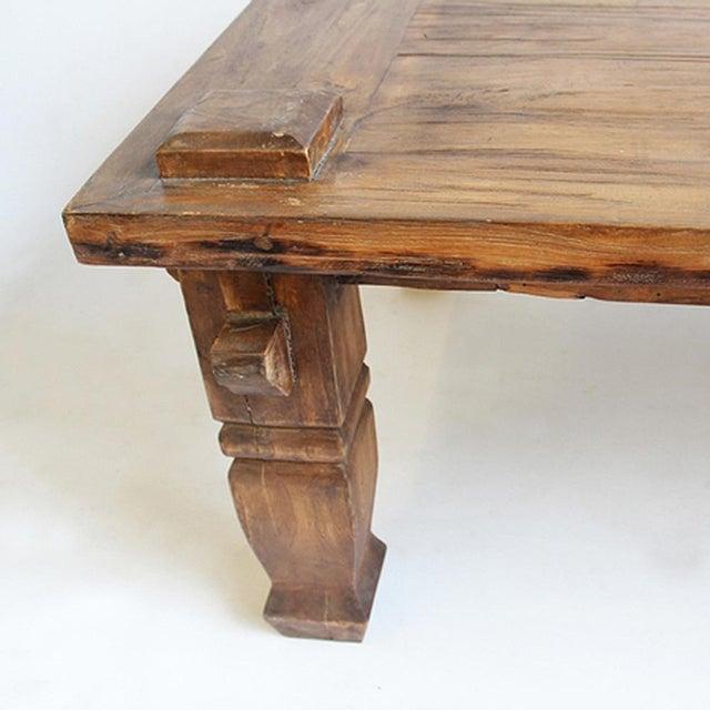 Balinese Teak Coffee Table: Balinese Coffee Table
