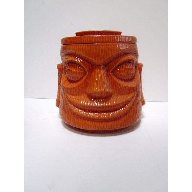 Large Tiki Cookie Jar - Image 2 of 8