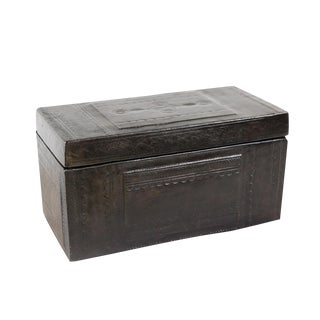 Taureg Leather Box Medium