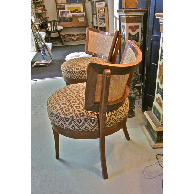 Image of Mid-Century Billy Haines Pull-Up Chairs - Pair