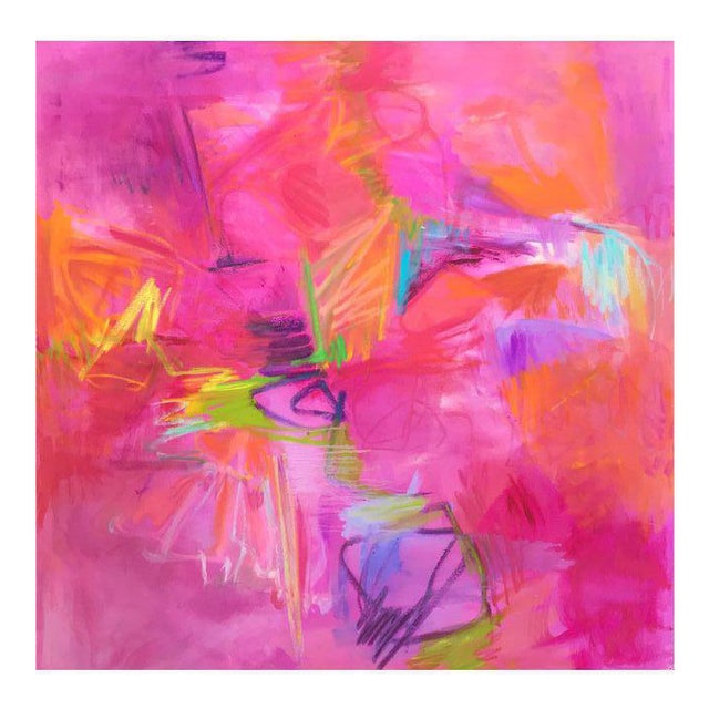 """""""Vegas"""" Large Abstract Painting by Trixie Pitts - Image 1 of 6"""